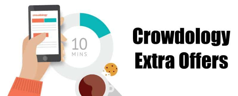 Crowdology Extra Offers