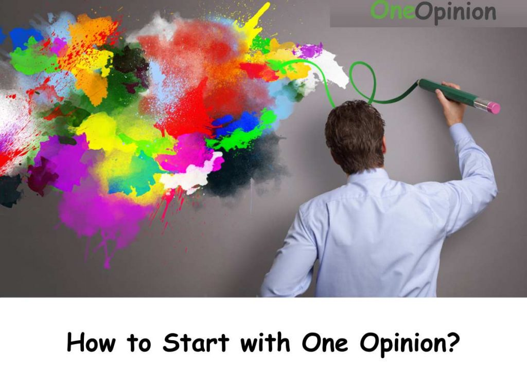 How to Start with One Opinion?