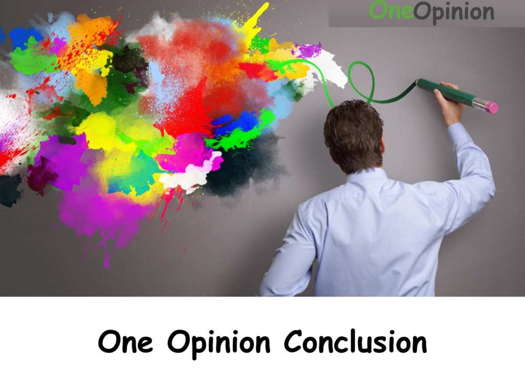 One Opinion Conclusion