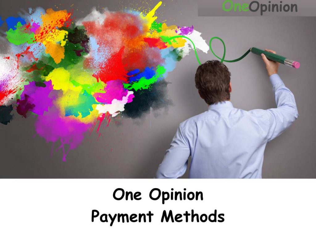 One Opinion Payment Methods
