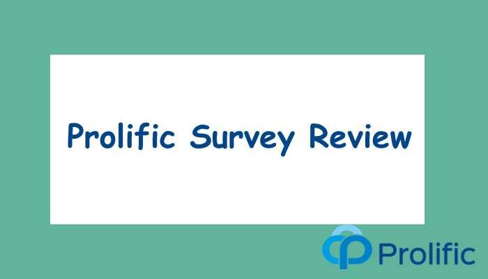 Prolific Survey Review