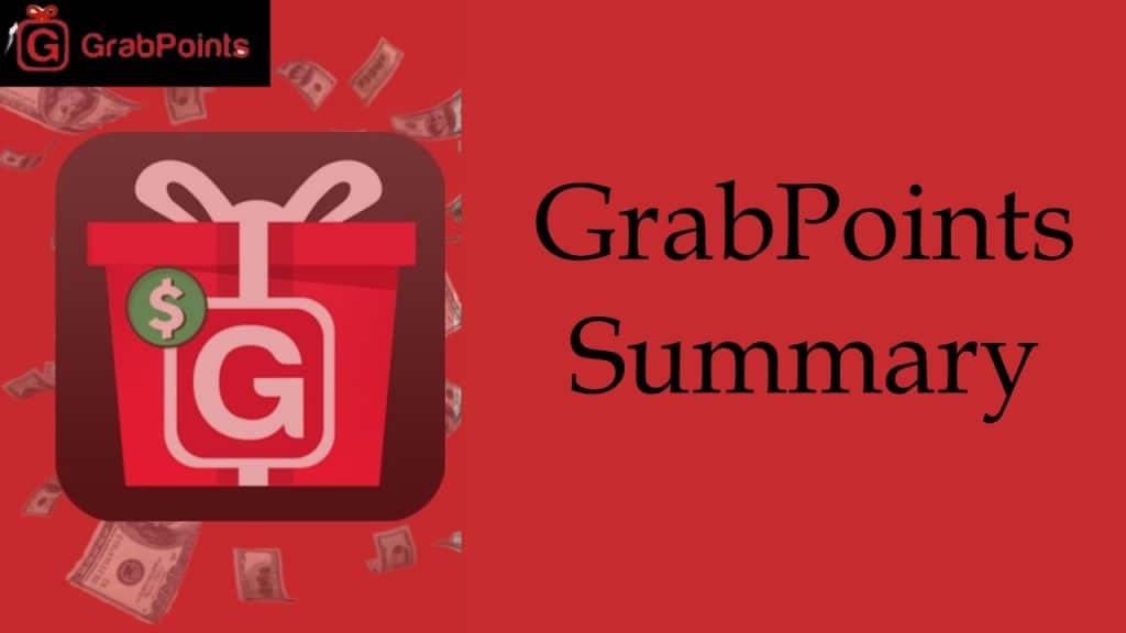 GrabPoints Summary