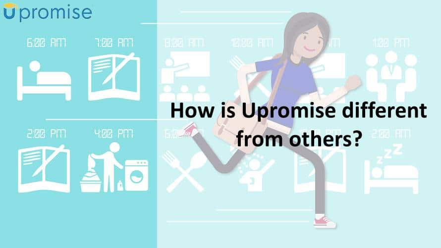 How is Upromise different from others?