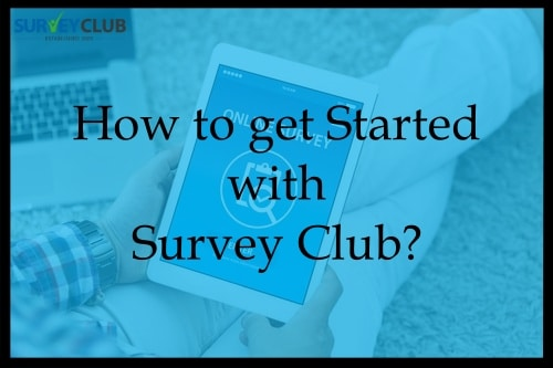 How to get started with Survey Club?