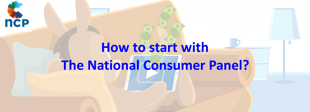 How to start with The National Consumer Panel?