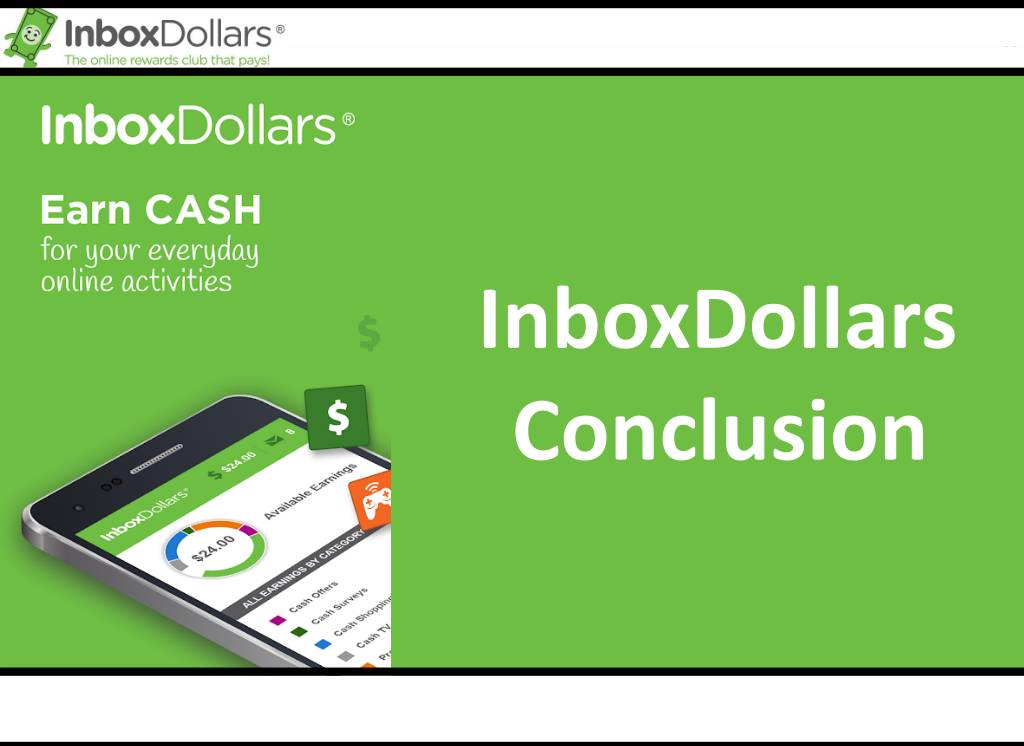 InboxDollars Conclusion