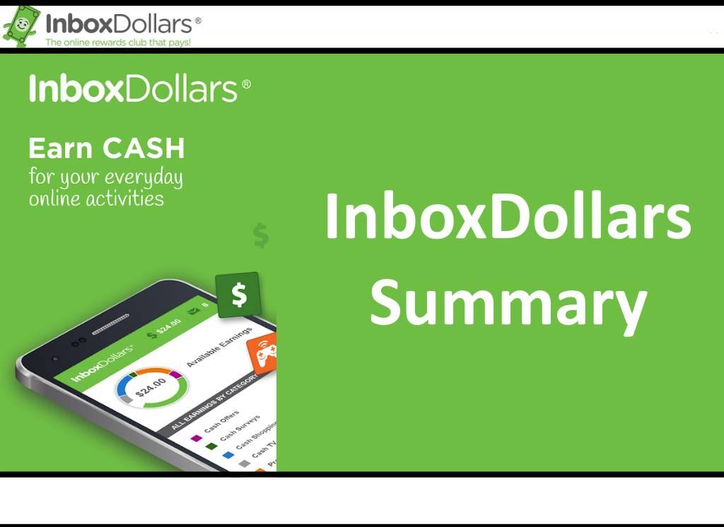 InboxDollars Summary