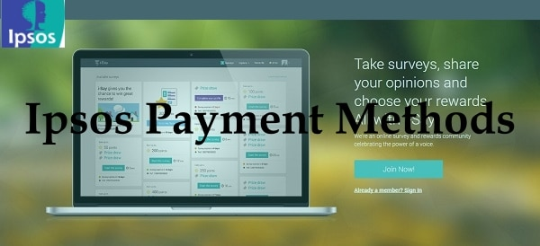 Ipsos Payment Methods