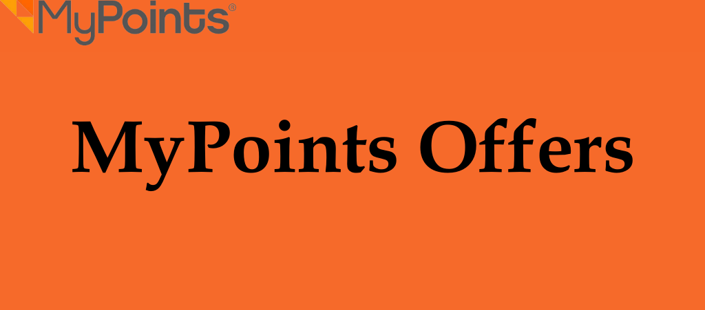 MyPoints Offers