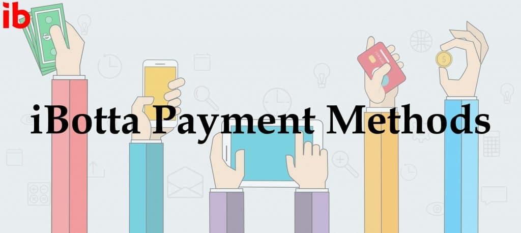 iBotta Payment Methods
