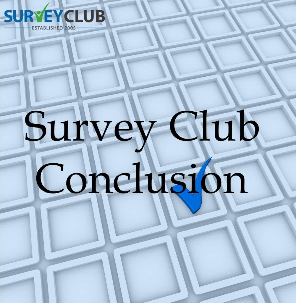 Survey Club Conclusion