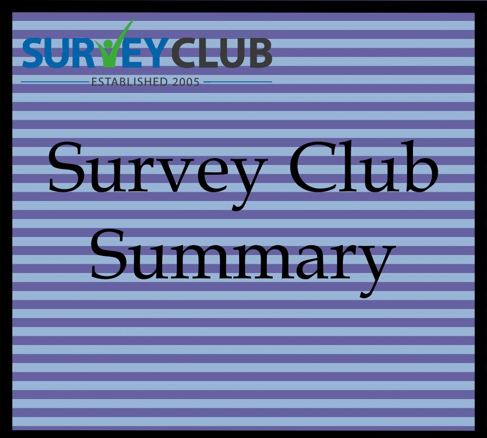 Survey Club Summary