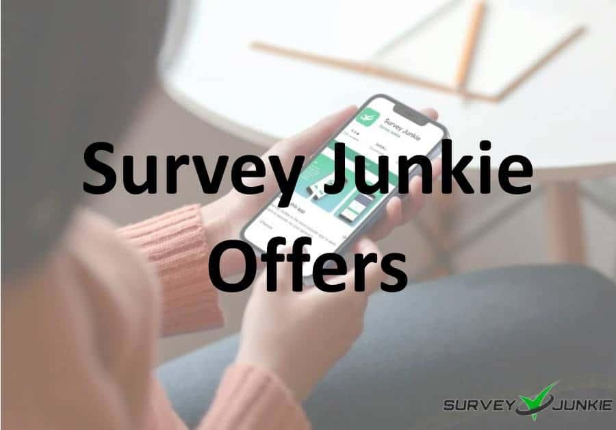 Survey Junkie Offers