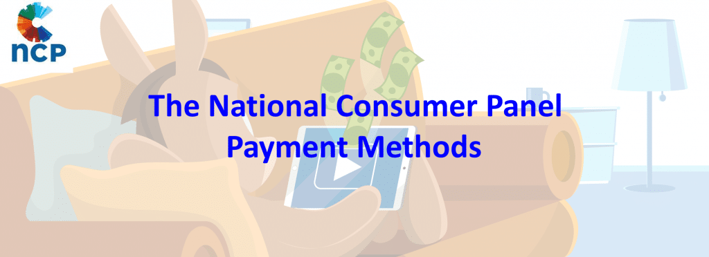 The National Consumer Panel Payment Methods