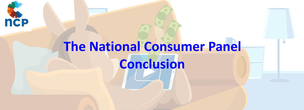 The National Consumer Panel Conclusion