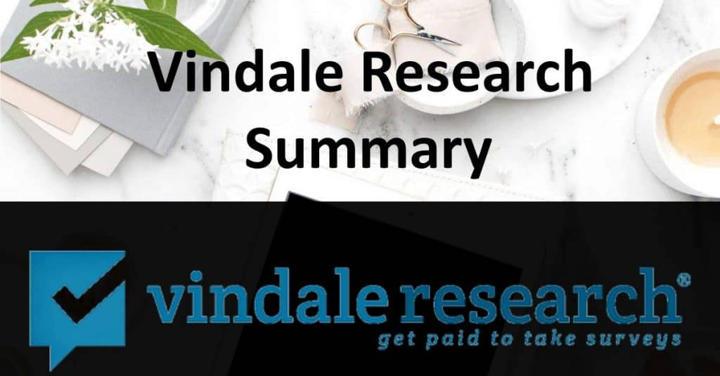 Vindale Research Summary