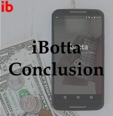 iBotta Conclusion
