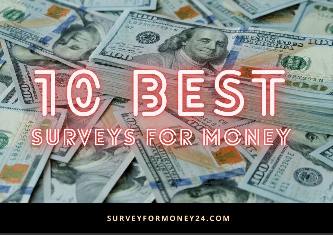 Survey For Money