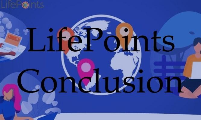 LifePoints Conclusion