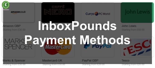 InboxPounds Payment Methods