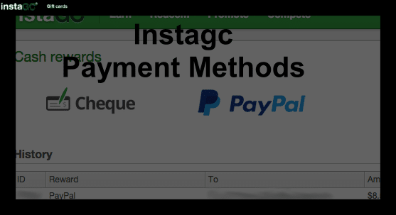 Instagc Payment Methods